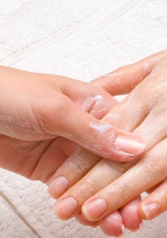Parafinowe rękawiczki