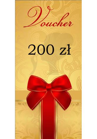 Voucher wartościowy 200 zł