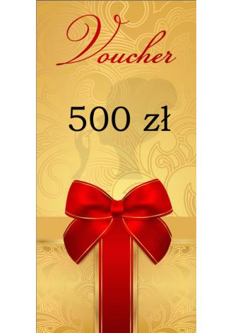 Voucher wartościowy 500 zł